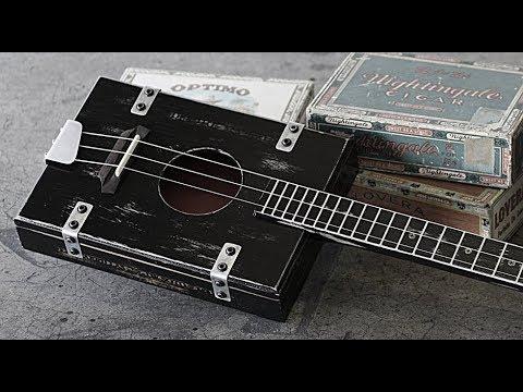 JJ Twang & The Easy Sliders ~ Cigar Box Honky Tonk Guitar ~