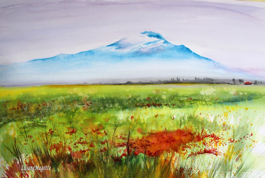 Etna au printemps, de Caltagirone à Catane.