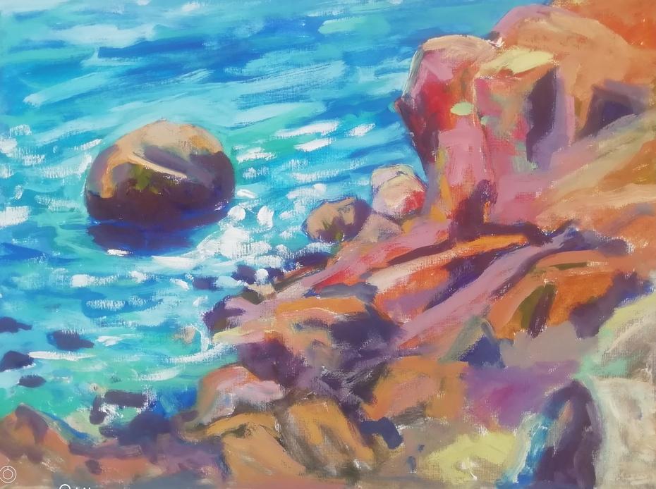Coastal study, bahía de Mazarrón Spain