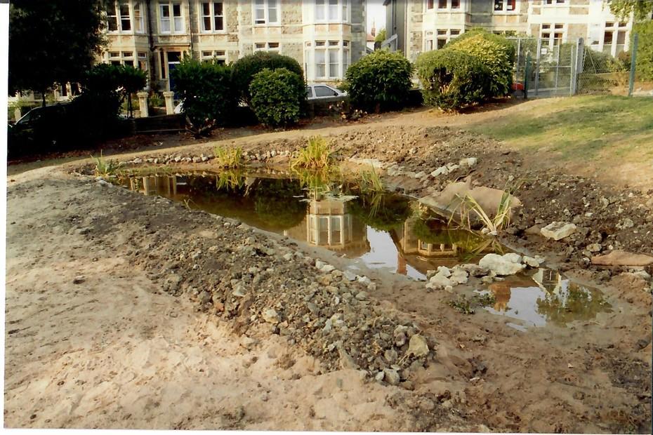 1993 August pond construction 20