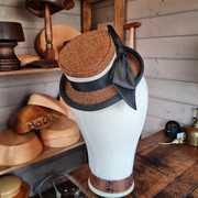 Harris Tweed Percher in Bracken and loden