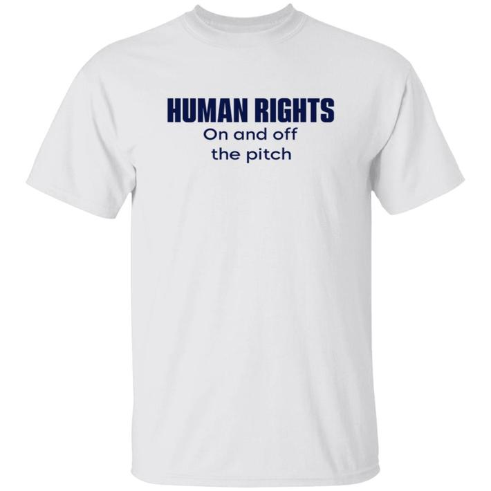 Respect On And Off The Pitch T Shirts