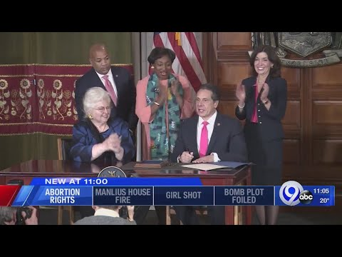 Video of people giving a enthusiastic applause and a standing ovation to passage of the most evil thing imaginable: allowing abortions up to the DUE DATE,