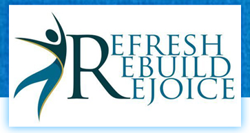 Refresh, Rebuild, Rejoice Logo