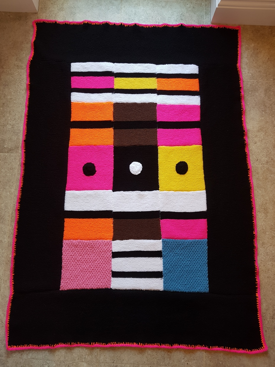 'Sweet Treats' Licorice Allsorts blanket