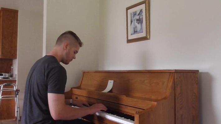 y2mate.com - Piano Man  Michael Bernard  our grandson_1080p