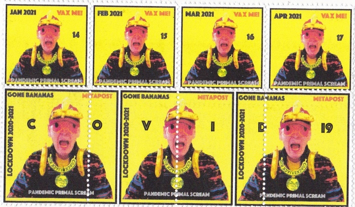 Crackerjack Kid stamps