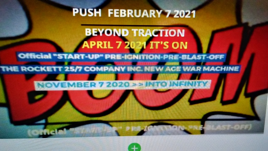 """(Official """"START-UP"""" PRE-IGNITION-PRE-BLAST-OFF)"""