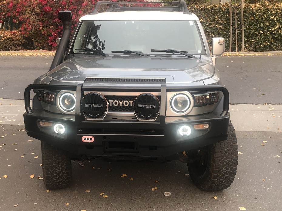 Bumper and DRLs added