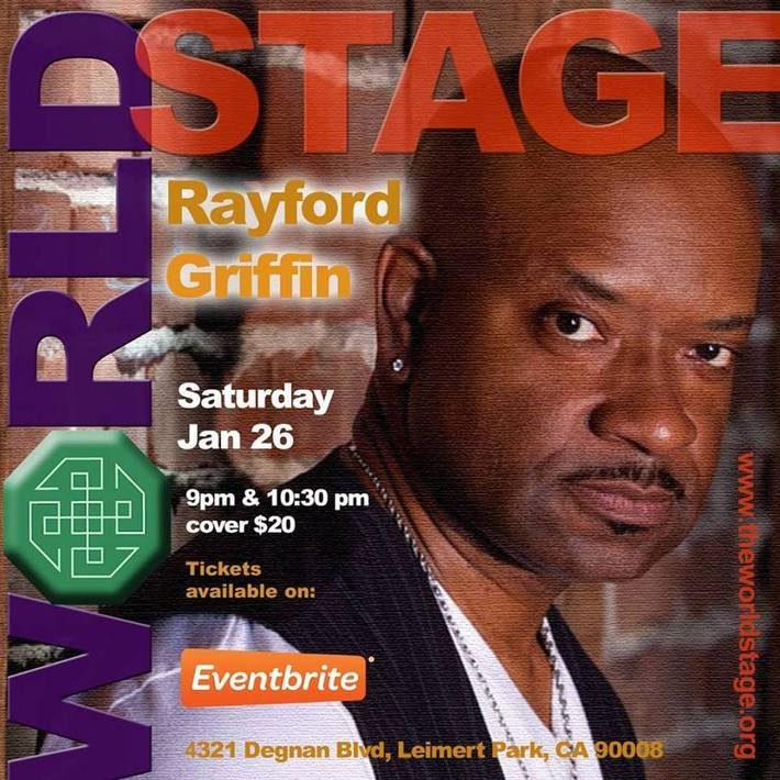 """""""Legendary"""" RAYFORD GRIFFIN 'n Band """"World _ azz Drummer"""" @ The 'new' World STAGE Sat. Jan., 26th 9PM ~"""