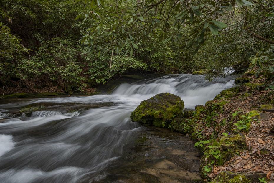 Upper Indian Creek Falls