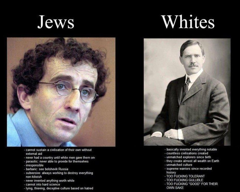 Jews vs Whites
