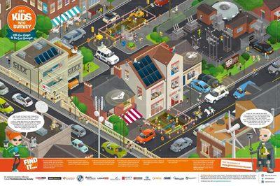 Utilities Poster Get Kids Into Survey