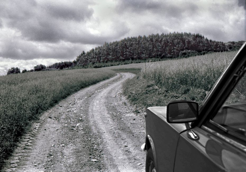 chemin rouge
