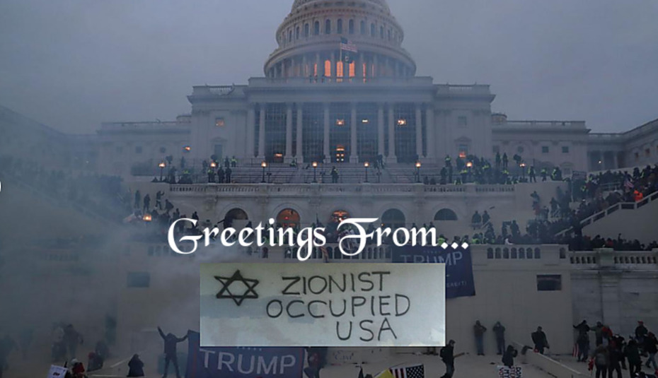 Greetings From - Zionist Occupied USA