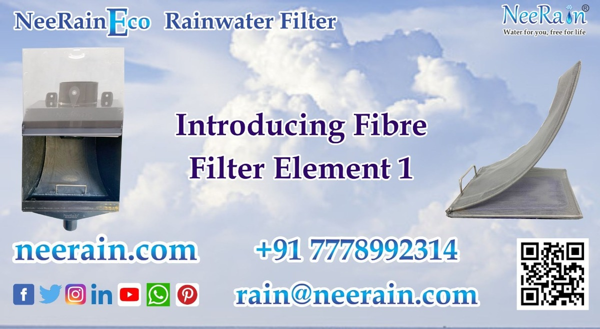 NeeRain Eco Rainwater harvesting filter