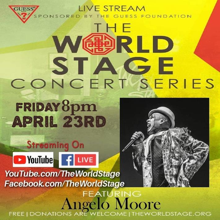 ANGELO MOORE of The Band Fishbone [TGIF TONIGHT] Fri. Apr. 23rd, 8PM PT *updatez* ~