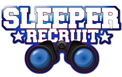Locker Room Sleeper Recruit Logo