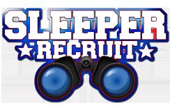 Locker Room Sleeper Recruit Logo