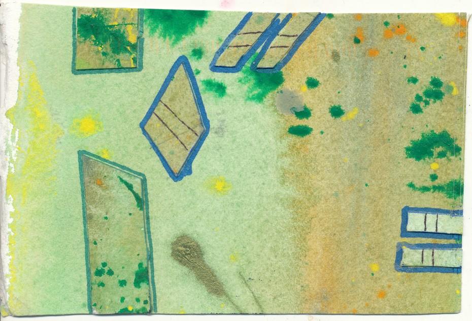 J Chester art card