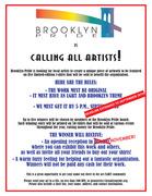 Brooklyn Pride Search for Artist