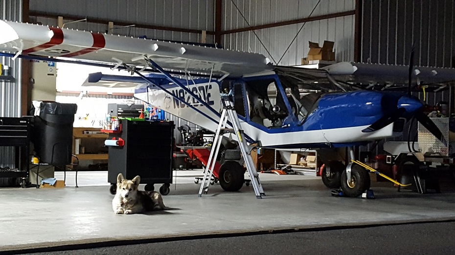 Dudley @ hangar
