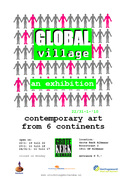 Global Village - international art exhibition in Alkmaar, Holland