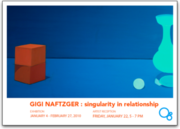 Singularity in relationship : Gigi Naftzger