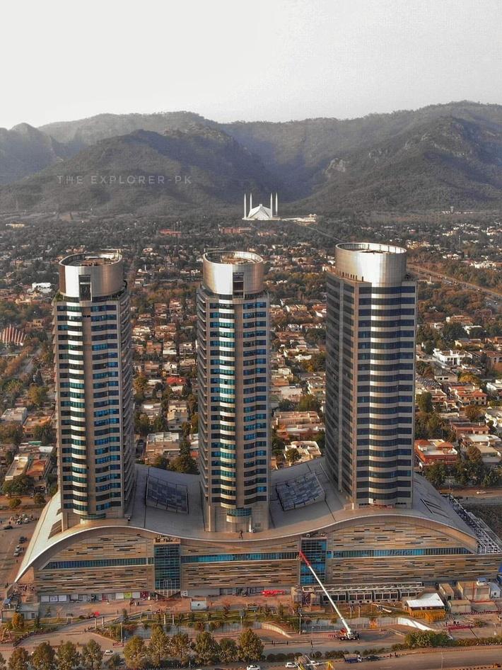The Centaurus Towers in Islamabad, Pakistan