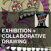 DUMBO Arts Festival 2010 | BAP Member Exhibition + Collaborative Drawing