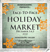 Be VENDOR at the ARTIST HOLIDAY MARKET!