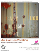 Art Goes on Vacation - A Solo Photography Exhibition by Emily J. Hara