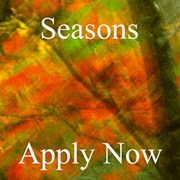 "Juried Art Competition - Theme ""Seasons"" Apply Now"
