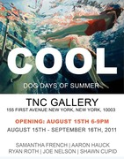 """COOL! ""The New Exhibition  at TNC Gallery Dancing! Food! Cool Stuff"