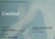Free screening of Jim Hodges' Untitled, in recognition of World AIDS Day and Day With(out) art.