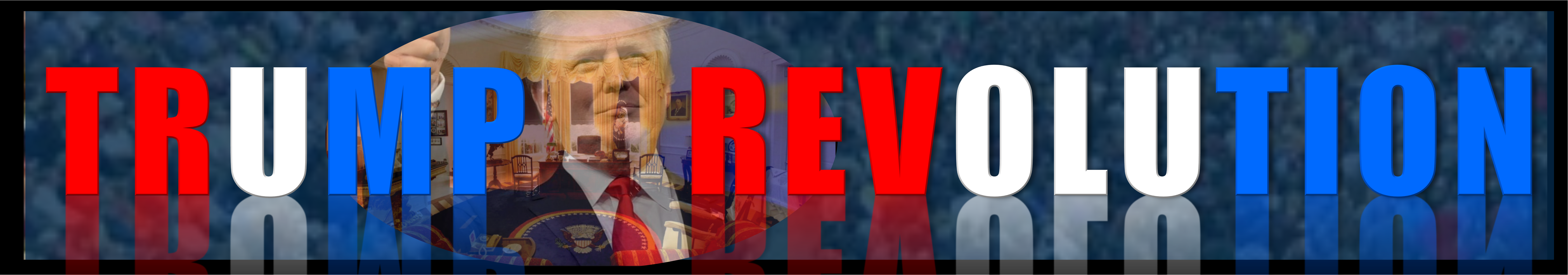 The Trump Revolution USA Logo