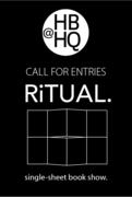 Extended Deadline: RiTUAL, single-sheet book show