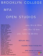 C.U.N.Y. Brooklyn College M.F.A. Open Studios