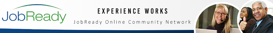 The Experience Works JobReady Community Logo