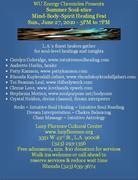 Summer Soul-stice Mind-Body-Spirit Healing Fest