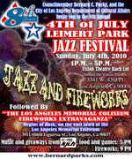 Jazz on the Fourth of July in Leimert Park; Fireworks in Expo Park
