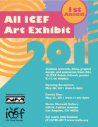 ICEF Visual Arts K-12 Art Exhibit