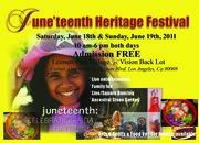 Leimert Park Juneteenth Heritage Festival June 18 & 19