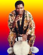 """Lamine """"Dibo"""" Camara West African Drum class."""