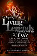 1st Annual Living Legends Black & White Ball