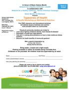 Tapestries of Health: A Soulful Workshop on Wellness & Nutrition