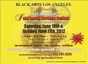 3rd Annual Juneteenth Heritage Festival in Los Angeles/Leimert Park