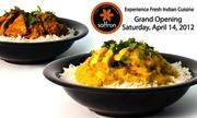 Saffron Grand Opening at BHCP