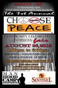 Choose Peace Community Celebration and Information Fair
