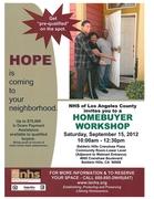 Neighborhood Housing Services of LA HOPE Homebuyer Workshop